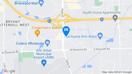 Holiday Inn Express & Suites Ann Arbor - University South, an IHG Hotel Map