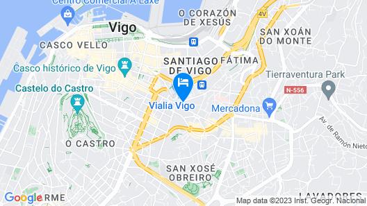 Occidental Vigo Map