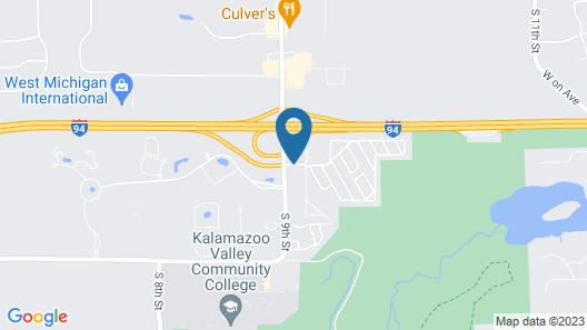Microtel Inn & Suites by Wyndham Kalamazoo Map