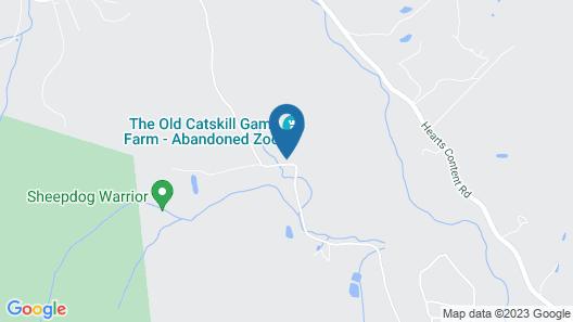 The Old Catskill Game Farm Inn Map
