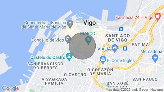 Luxury Apartment in the Center of Vigo. Parking Included Map