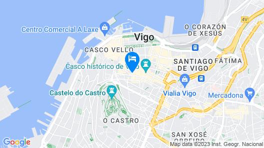 Apartamento de lujo en el centro de Vigo. (Parking Incluido) Map