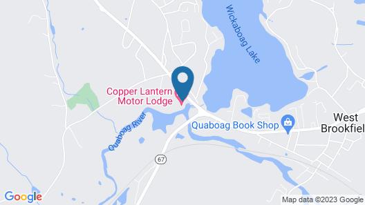 Copper Lantern Motor Lodge Map