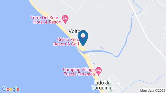 Civico Zero Resort Map