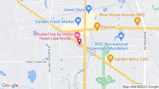 Baymont Inn & Suites by Wyndham Mundelein near Vernon Hills Map