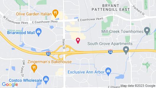 Hampton Inn Ann Arbor-South Map