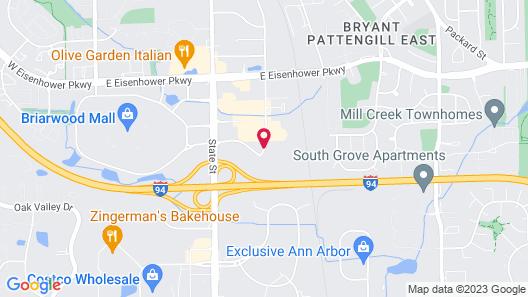 Fairfield Inn By Marriott Ann Arbor Map
