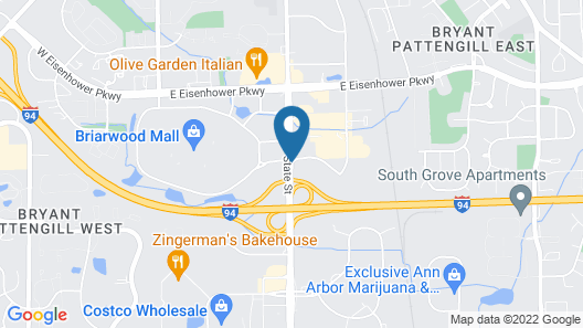 Comfort Inn & Suites University South Map