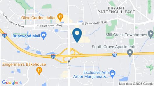 Sonesta ES Suites Ann Arbor Map