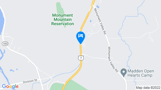 The Briarcliff Motel Map