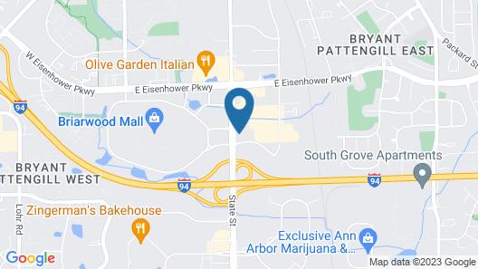 Hyatt Place Ann Arbor Map