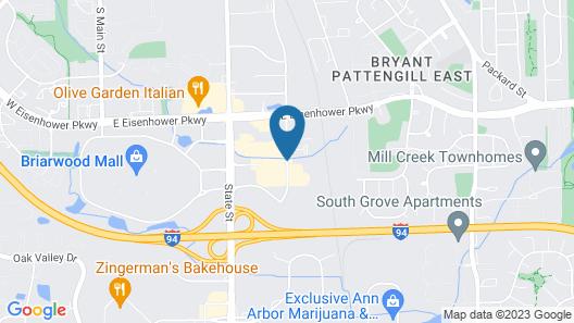 Holiday Inn & Suites Ann Arbor Univ Michigan Area Map