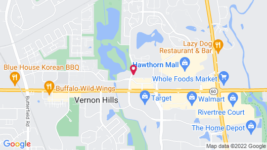 Holiday Inn Express Chicago NW - Vernon Hills, an IHG Hotel Map