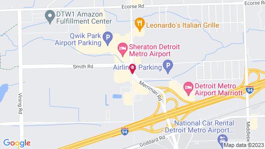 Holiday Inn Detroit Metro Airport, an IHG Hotel Map