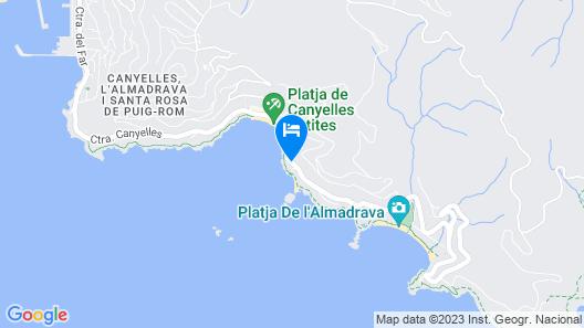 Hotel Vistabella Map