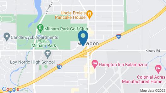 Comfort Inn Wings Stadium Map