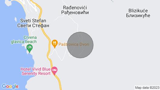 Vila Lavanda - Serenity and Joy Map