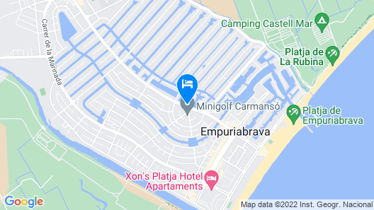 Hotel Portofino Map
