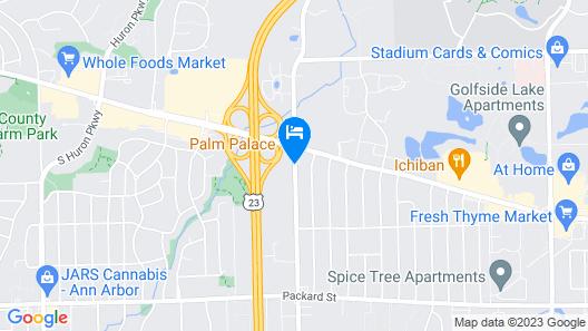 Days Inn by Wyndham Ann Arbor Map
