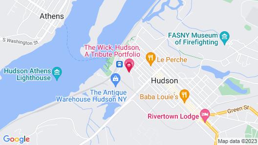 The Wick, Hudson, A Tribute Portfolio Hotel Map
