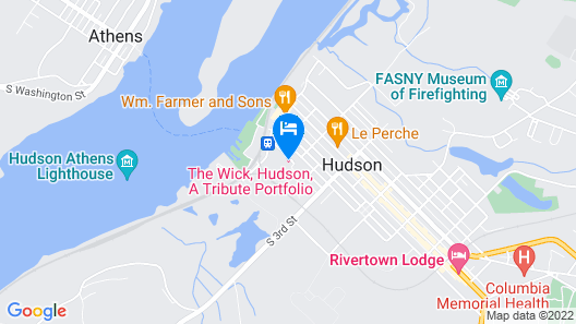 The Wick, Hudson, A Tribute Portfolio Hotel Map