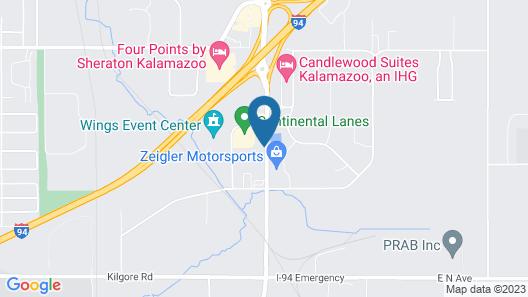 Quality Inn I-94 near Wings Stadium Map