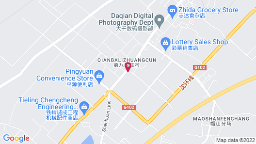Green Tree Inn Tieling Zijing City Map