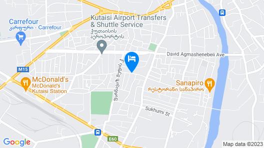 Hotel Eleon Map