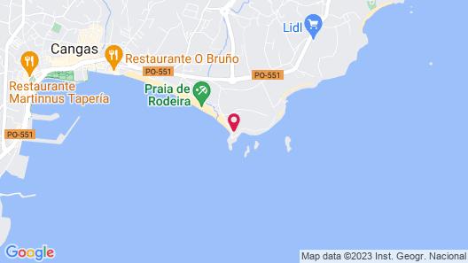 Casa Rural la Garita Map