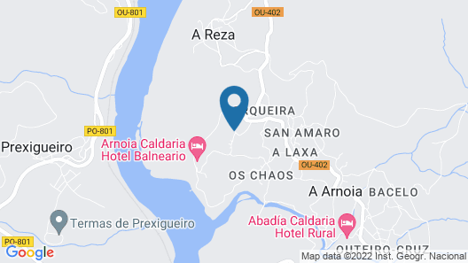 Arnoia Caldaria Map
