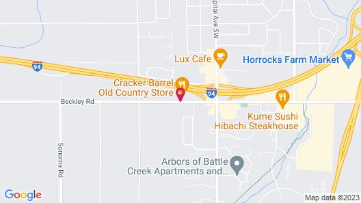 Fairfield Inn by Marriott Battle Creek Map