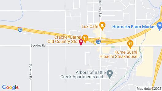 Baymont by Wyndham Battle Creek/I-94 Map