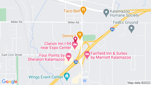 Red Roof Inn Kalamazoo East - Expo Center Map
