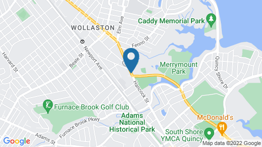 Howard Johnson by Wyndham Quincy/Boston Map