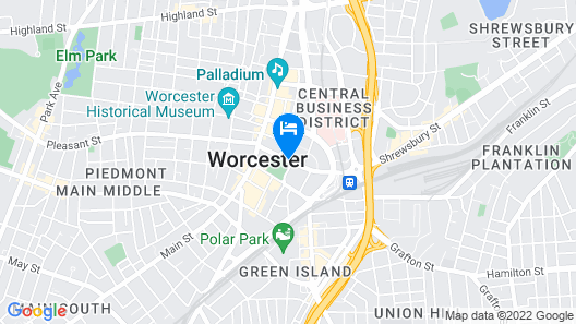 AC Hotel by Marriott Worcester Map