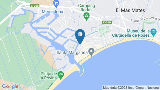 Hotel Prestige Sant Marc Map