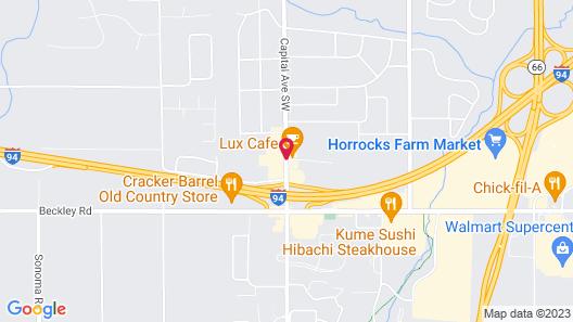 Knights Inn Battle Creek Map