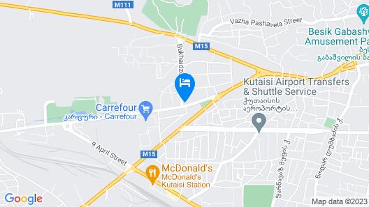 Mini Hotel Kutaisi Map