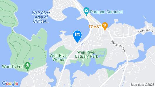 The Beacon Waterfront Inn Map