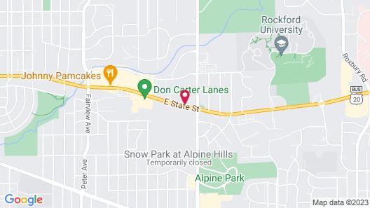 Alpine Inn Rockford Map