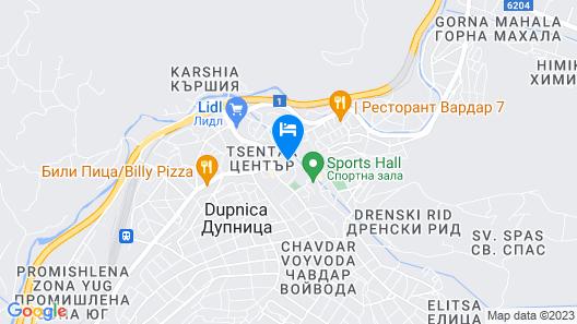 Hotel Complex Rila Map