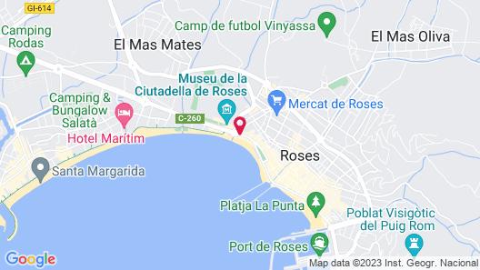 Hotel Marina Map