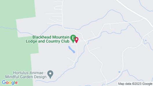 Blackhead Mountain Lodge & Country Club Map