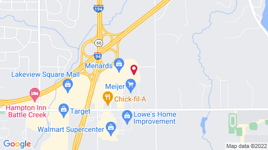 Holiday Inn Battle Creek, an IHG Hotel Map