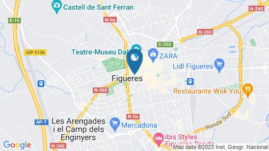 Duran Hotel & Restaurant Map