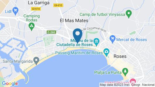 Apartaments Estudis els Molins Map
