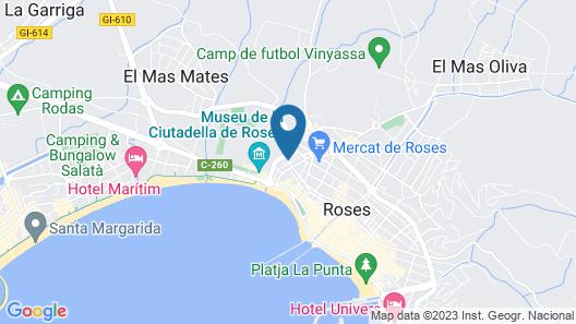 Hotel Ciutadella Map