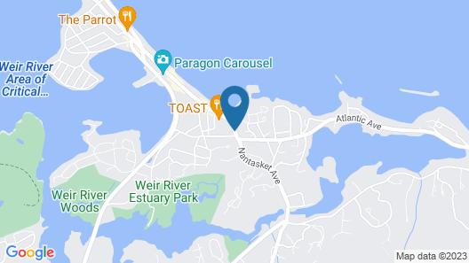Nantasket Beach Hotel Map