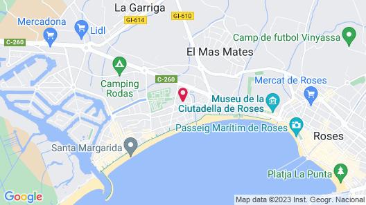 Hotel Mediterraneo Park Map