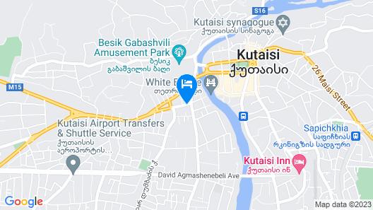 Best Western Kutaisi Map